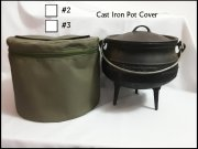 No2 3 Leg Potjie Canvas Cover